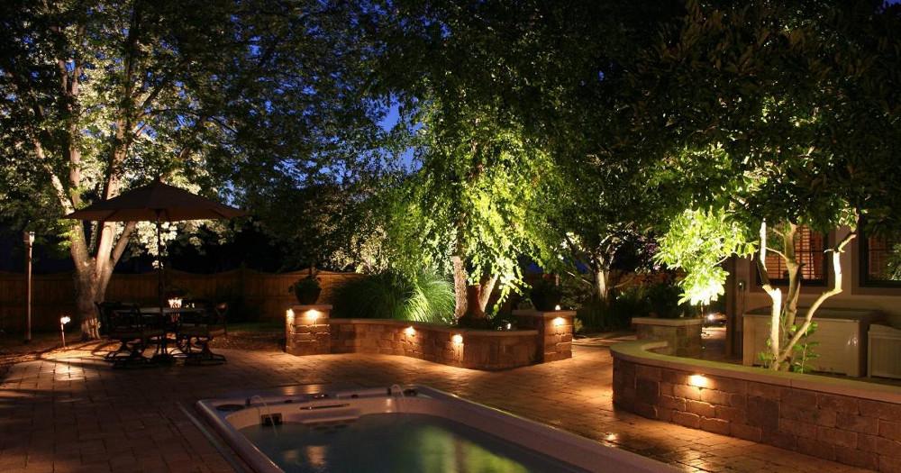 Illuminazione roma giardini