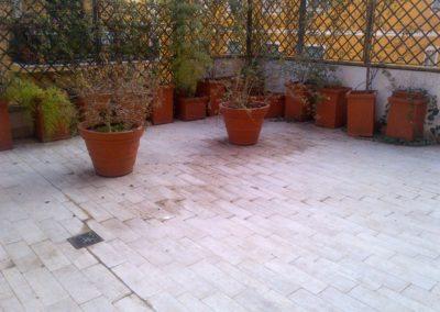 Terrazzo Monteverde prima dei lavori