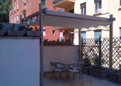 Terrazzo Villa Pamphili dopo i lavori