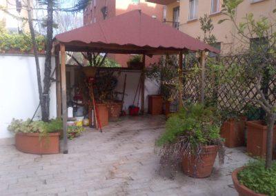 Terrazzo Villa Pamphili prima dei lavori